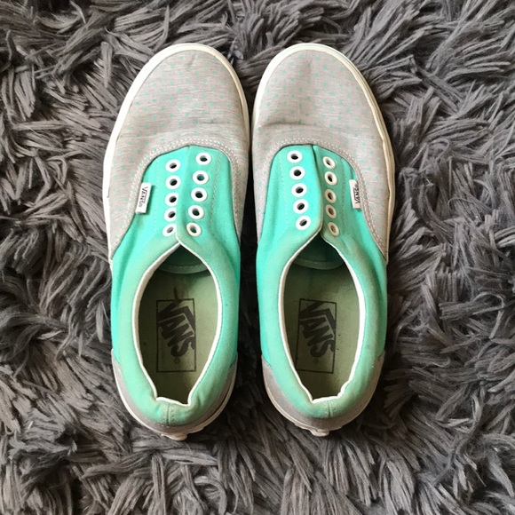 Lowtop Turquoise Vans